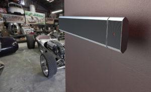 Infrarood verwarming voor werkplaats garage